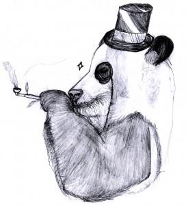 Gentleman Panda
